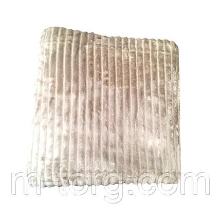 """однотонный""Плед евро размер 200/230, микрофибра, фото 2"
