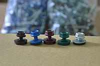 Винты по металлу с резинкой 4,8х19 (цыетные)