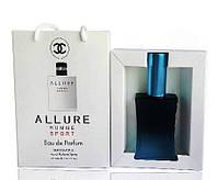 Chanel Allure homme Sport - Travel Perfume 50ml #B/E