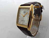 Часы мужские Q@Q  классические в золоте, водозащита, VG30-101Y, фото 1