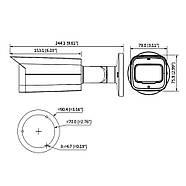 Уличная видеокамера Dahua DH-HAC-HFW2802TP-A-I8 (3.6), фото 3