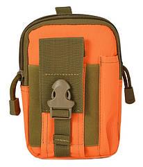 Сумка на пояс штурмовая тактическая Mini Warrior BGW00239 Оранжевый taukrp23700239qfr, КОД: 986157
