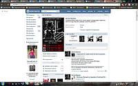 Новая личная страничка в Вконтакте.