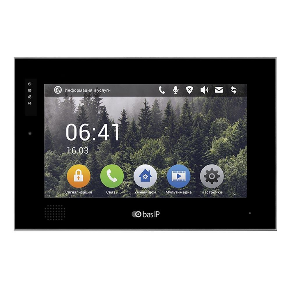 IP видеодомофон Bas-IP AQ-10 B V3 BLACK