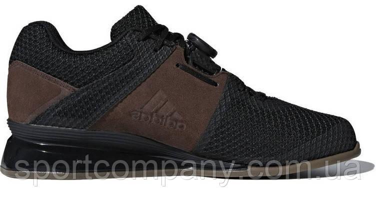 Обувь для тяжелой атлетики Штангетки Adidas Leistung 16.2, черные