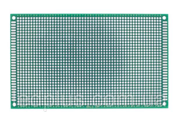 Макетная плата 9х15см односторонняя FR4