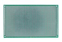 Макетная плата 9х15 см двусторонняя FR4
