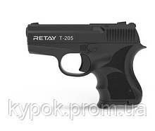 Стартовый (шумовой,сигнальный) пистолет Retay Arms T205 Black