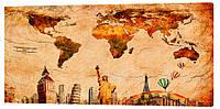 Картина на холсте Декор Карпаты Города 50х100 см (g278)