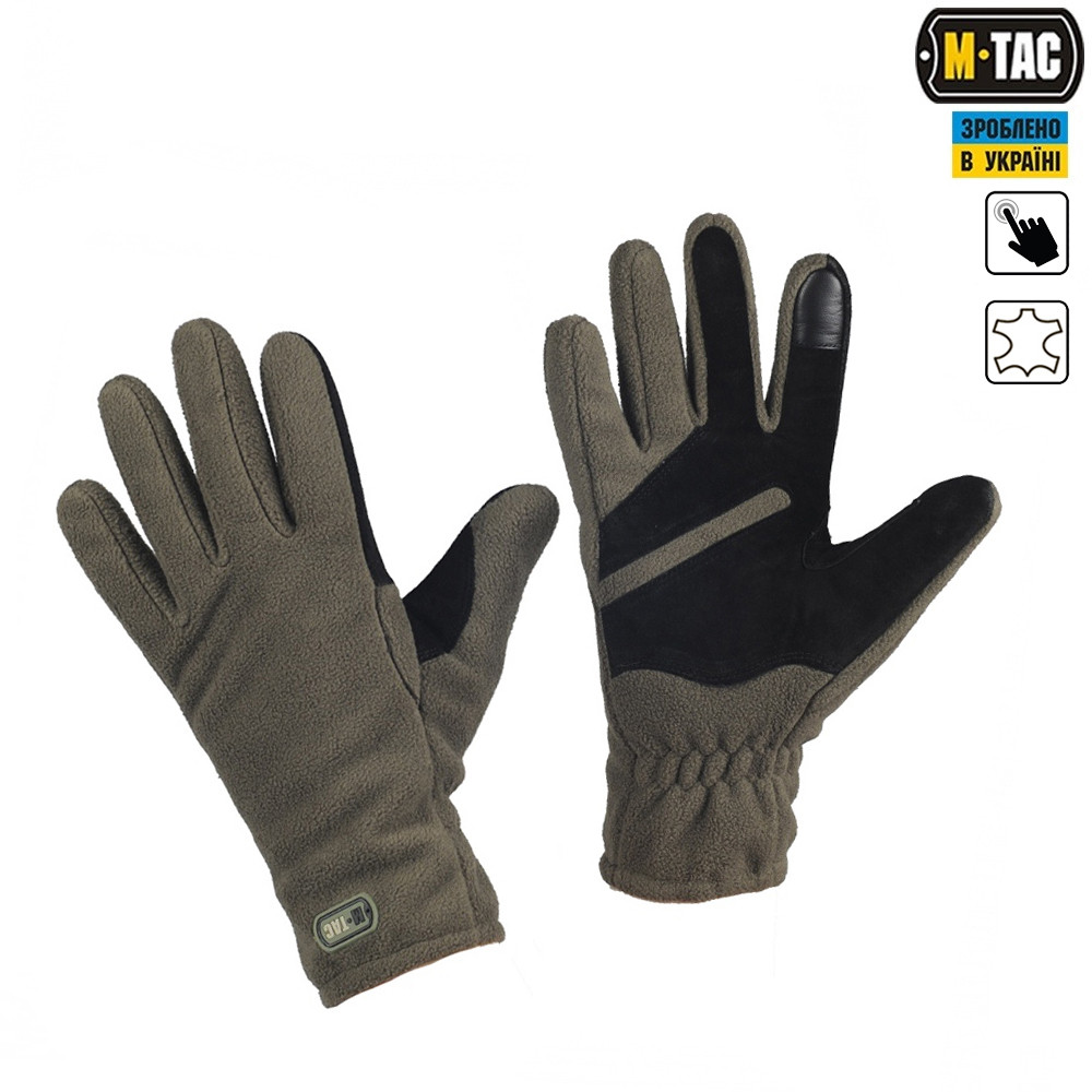 M-TAC ПЕРЧАТКИ WINTER TACTICAL WINDBLOCK 380 OLIVE