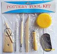 Набор инструментов для скульптуры, 8 шт., D.K.ART & CRAFT
