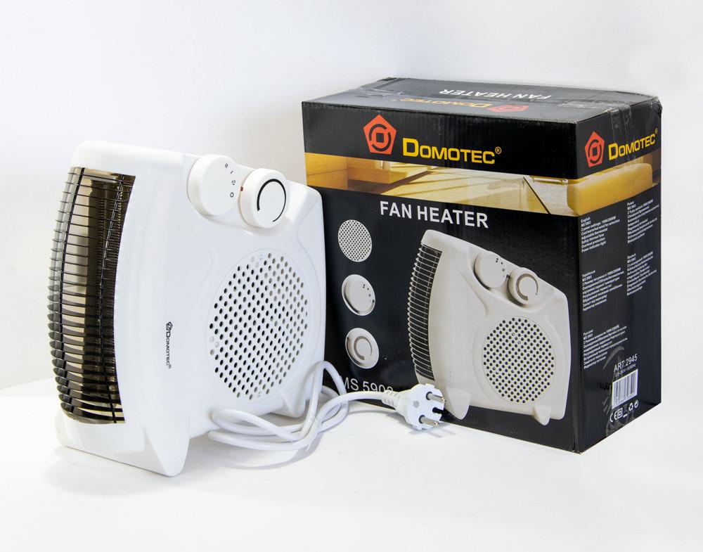 Тепловентилятор Domotec MS 5903 электро обогреватель 2000 W, электрический дуйчик с доставкой