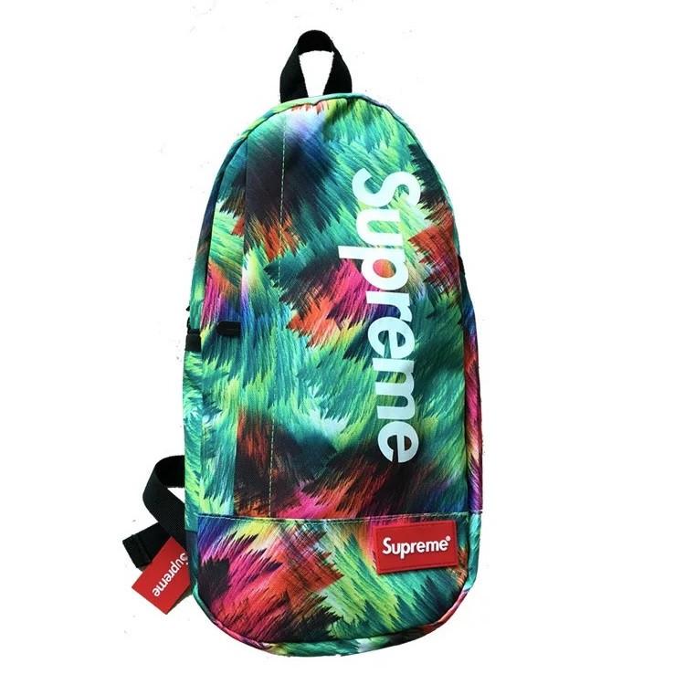Нагрудная сумка SUPREME суприм сумка слинг через плечо зеленая