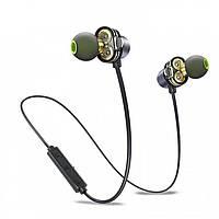 Наушники вакуумные с микрофоном MDR X660 + BT AWEI, Беспроводные Bluetooth наушники, Наушники гарнитура блютуз