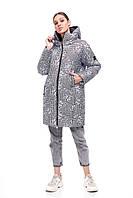 Стильный дутый пуховик в лапку зима 2020 объемный кокон размер 42-48 очень теплый красивый