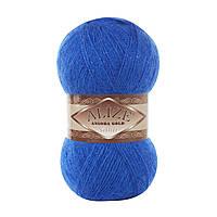 ANGORA GOLD SIMLI 141 королевский синий - 20% шерсть, 5% металлик, 75% акрил
