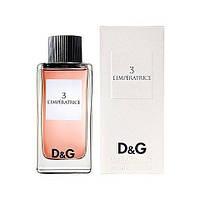 D&G Anthology L`Imperatrice 3 Dolce&Gabbana   (Императрица от Дольче Габбана)   ТЕСТЕР  100мл