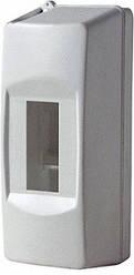 Корпус пластиковий 2-модульний , без дверей, (Инекст), Туреччина