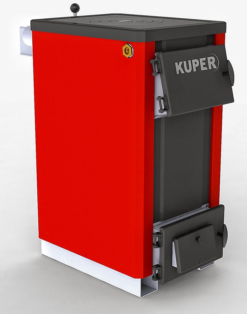 Стальные твердотопливные котлы KUPER-12 (котлы КУПЕР) 12 кВт, фото 1