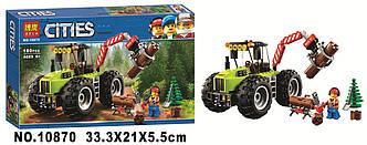 Конструктор BELA 10870 Лесной трактор