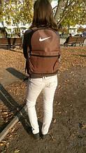 Рюкзак спортивный коричневый 036S