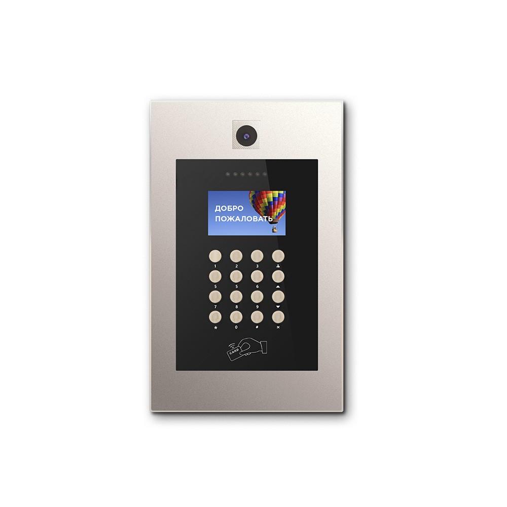 IP вызывная панель Bas-IP AA-09M GOLD (Mifare)