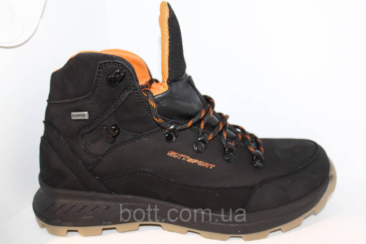 Кожаные зимние спортивные ботинки, фото 2