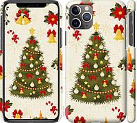 "Чехол на iPhone 11 Pro Max Новогодняя елка ""4198c-1723-26631"""