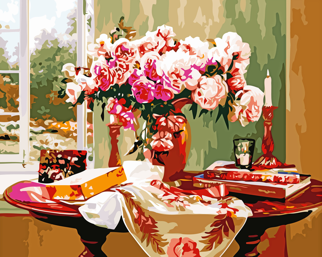 Художественный творческий набор, картина по номерам Вдохновение, 50x40 см, «Art Story» (AS0522)