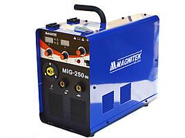 Зварювальний промисловий напівавтомат MAGNITEK MIG-250 (MIG/MMA) 220/380V