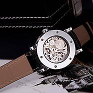 Механические часы Winner Hollow Silver, фото 2