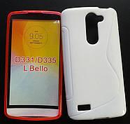 Чехол для LG L Bello D331 D335 Белый Бампер Накладка, фото 2