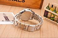 Женские часы Geneva Kors Style Gold под золото со стразами, Жіночий наручний годинник, фото 4