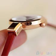 Женские часы браслет Ymhao красные, фото 3