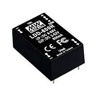 Блок питания Mean Well LDD-350HW Драйвер для светодиодов (LED) 18,2 Вт, 52 В, 0,35 А (DC/DC Преобразователь)