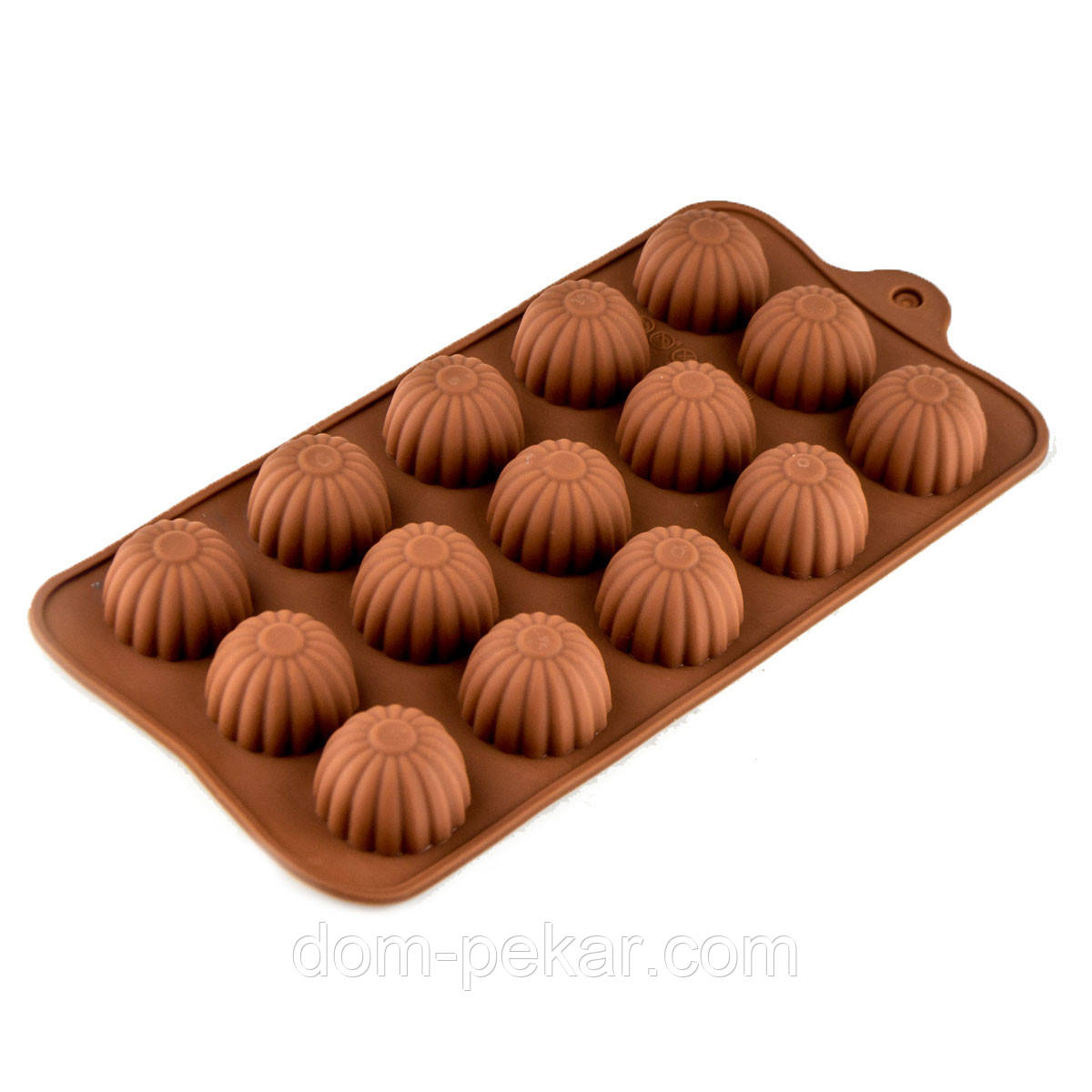 Форма для конфет силикон Пралине 15 шт