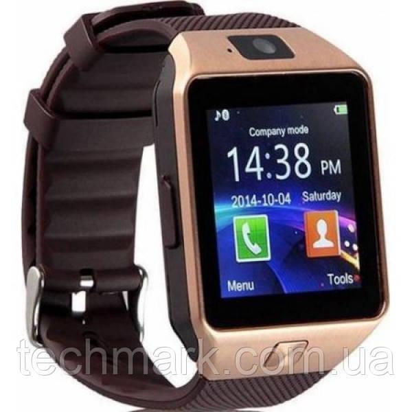 Смарт-часы Smart Watch DZ09 Gold