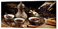 Картина на холсте Декор Карпаты Кофе 50х100 см (o490)