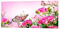 Картина на холсте Декор Карпаты Цветы 50х100 см (c786)