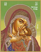 Схема для вышивки бисером А4 Корсунская икона Божией Матери КМИ 4036