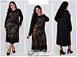 Стильне плаття (розміри 54-58) 0213-82, фото 2