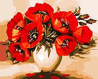 Художественный творческий набор, картина по номерам Восхитительные маки, 50x40 см, «Art Story» (AS0525), фото 1