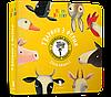 Книга дитяча Збери веселку Тварини з ферми, A rtBooks
