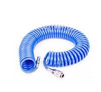 Шланг спиральный полиуретановый Intertool PT-1707 10м