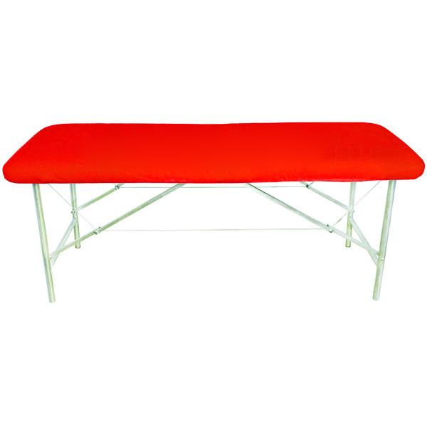 Чехол на кушетку универсальный с резинкой Красный Panni Mlada 0,8 х 2,1 45г/м.кв спанбонд