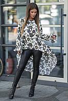 Костюм женский блуза и лосины в расцветках 40929, фото 1