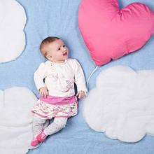 Дитячий комплект для дівчинки Одяг для дівчаток 0-2 BRUMS Італія 133BCEM010 Молочний