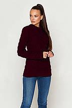 Женский вязаный свитер по фигуре (КС03 jd), фото 2