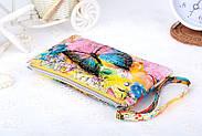 Женский клатч кошелек с принтом, фото 2