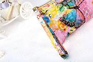 Женский клатч кошелек с принтом, фото 3